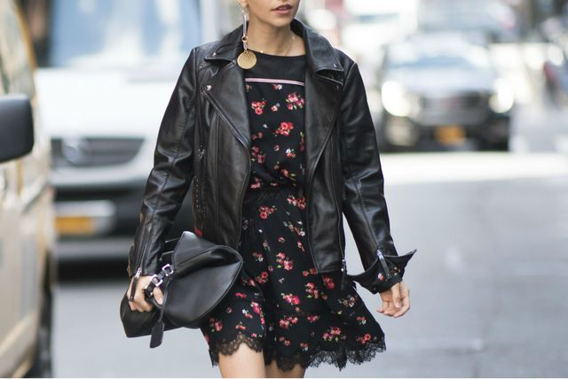 Kožnata jakna nezaobilazna je u jesenskim street style kombinacijama