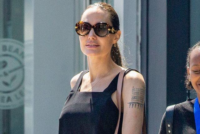 Angelina Jolie u hlačama skinny kroja - 4