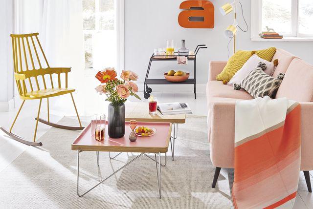 Ideje za uređenje doma u toplim bojama - 2