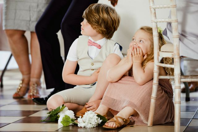 Mali gosti na vjenčanju
