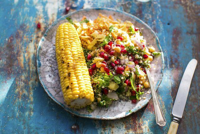 Salata od slanutka i kukuruza