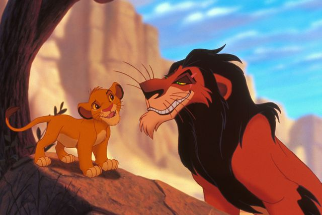 Scena iz animiranog filma Kralj lavova