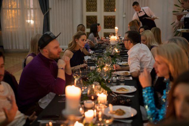 Božićna atmosfera na večeri Ivana Alduka (Foto: Sarah&Ino)