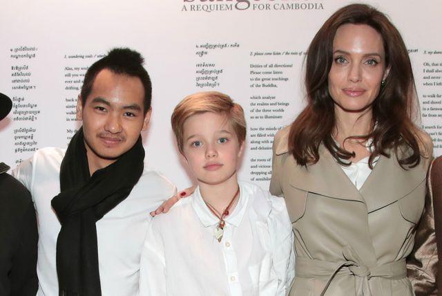 Maddox, Shiloh i Angelina