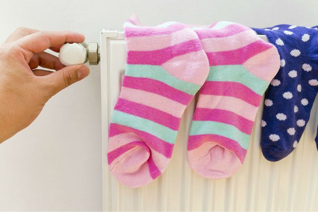 Čarape na radijatoru