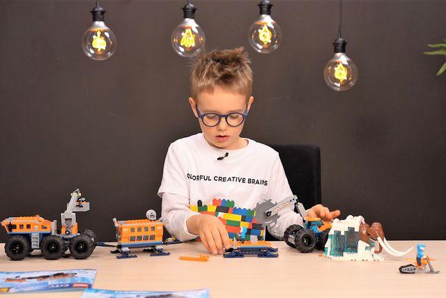 Sven nam je pokazao kako izgleda LEGO City pokretna arktička istraživačka postaja