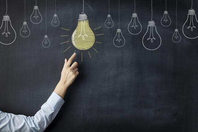 Žarulja kao simbol dobre ideje