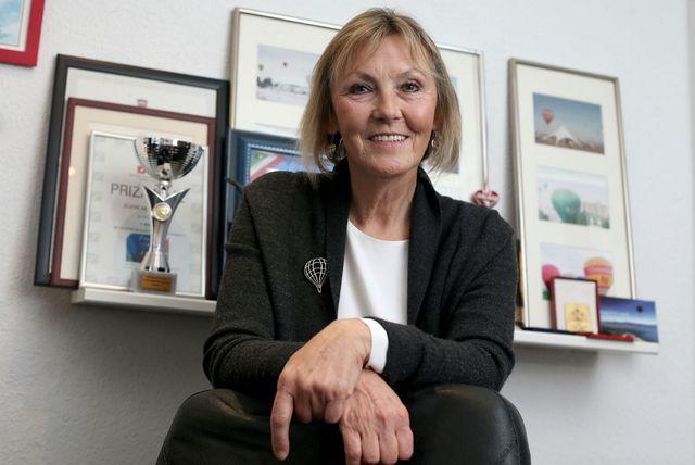 Marija Petrić Mikloušić prva je pilotkinja balona u regiji