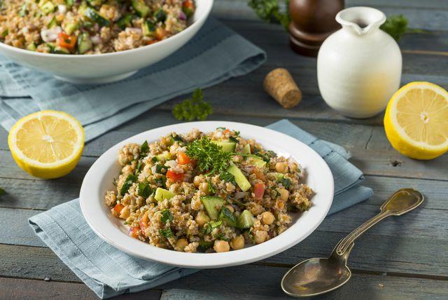 Salata od bulgura i tune