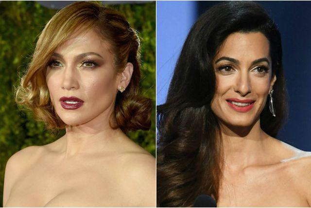 Jennifer Lopez i Amal Clooney
