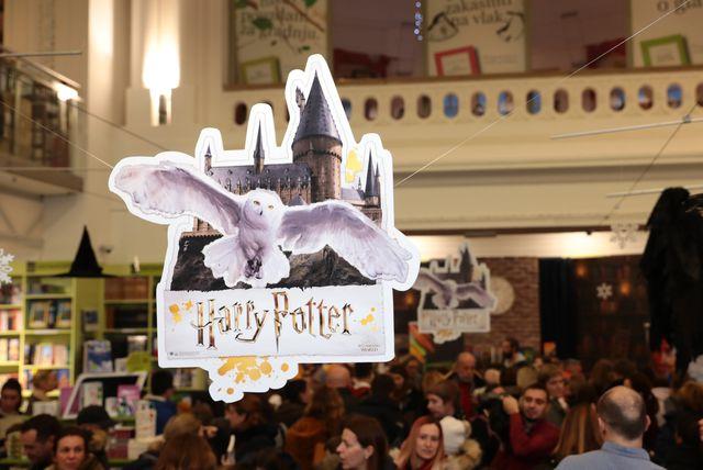 Noć Harryja Pottera u Hoću knjigu