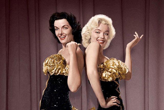 Jane Russell i Marilyn Monroe u filmu Muškarci više vole plavuše