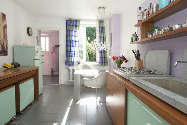 Kuhinja u zelenoj boji - 7