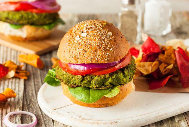 Burger od kvinoje i brokule