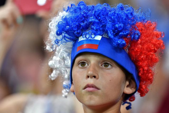 Navijač nogometne reprezentacije Islanda