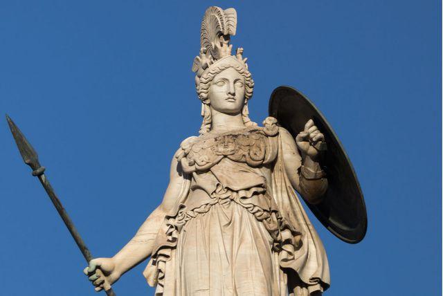 Kip grčke božice rata i mudrosti Atene