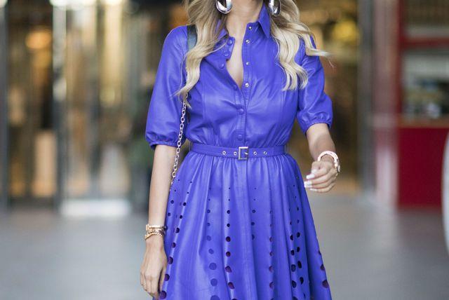 Haljina-košulja odličan je izbor za upečatljivi street style