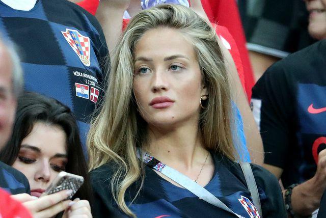 Izabel Kovačić na polufinalnoj utakmici protiv Engleske