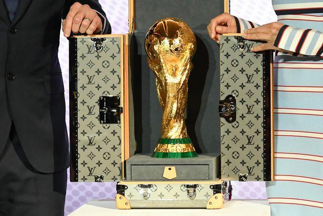 FIFA-in trofej u kovčegu modne kuće Louis Vuitton