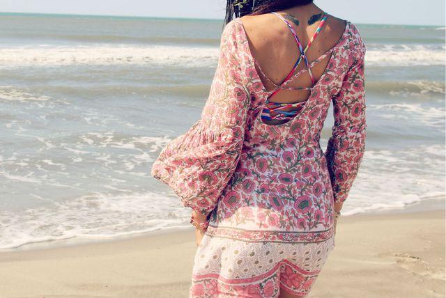 Lagana i udobna tunika uvijek je dobar izbor za plažu