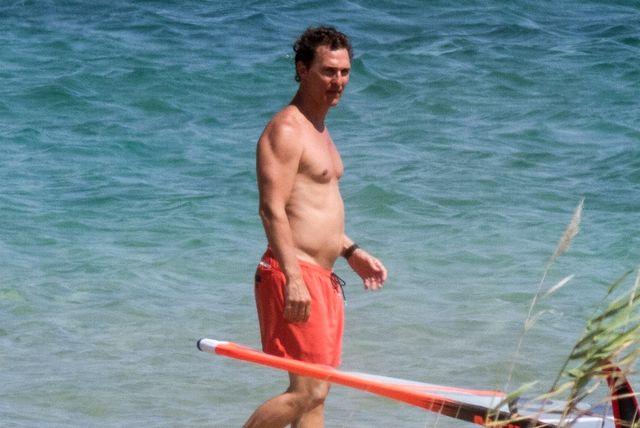 Matthew McConaughey na odmoru u Grčkoj