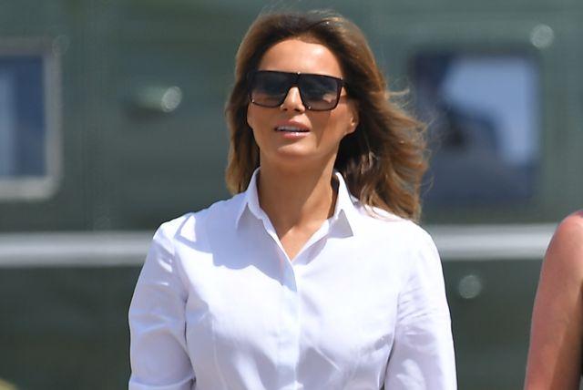 Melania Trump u skinny hlačama i tenisicama - 3