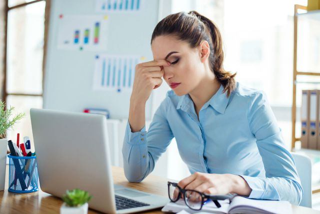 Žena pod stresom