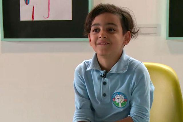 Osmogodišnji Mehdi Deilami sretan je u Hrvatskoj, u koju je došao iz rodnog Irana