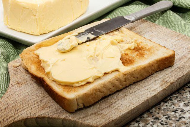 Tost s margarinom
