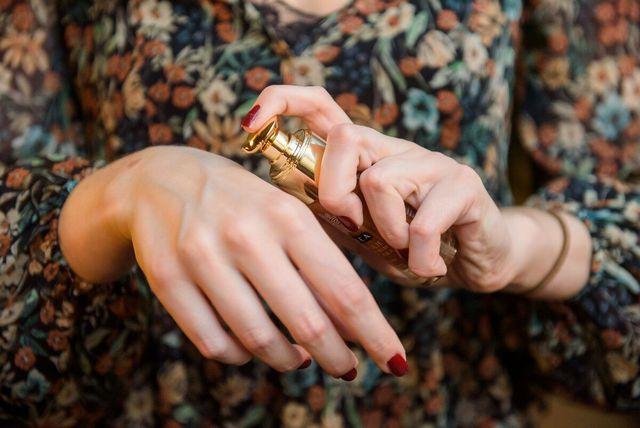 Luxea suho ulje sa zlatnim česticama
