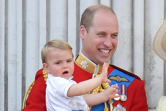 Princ Louis s tatom Williamom