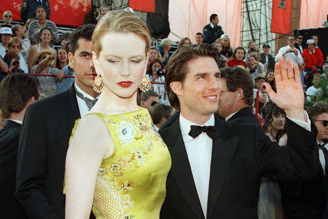 Nicole Kidman i Tom Cruise na dodjeli Oscara 1997. godine