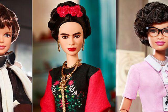 Američka pilotkinja Amelija Earhart, slikarica Frida Kahlo i matematičarka NASA-e Katherine Johnson dobile su svoje Barbie lutkice