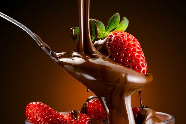 Čokolada i jagoda