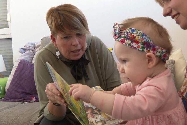 Danas devetomjesečna Nika dobro poznaje tetu Sandru
