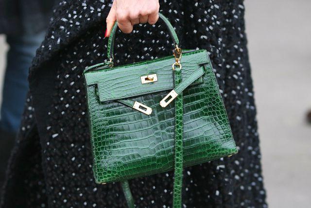 Torba zelene boje