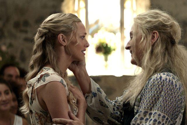 Mama i kći u filmu Mamma Mia