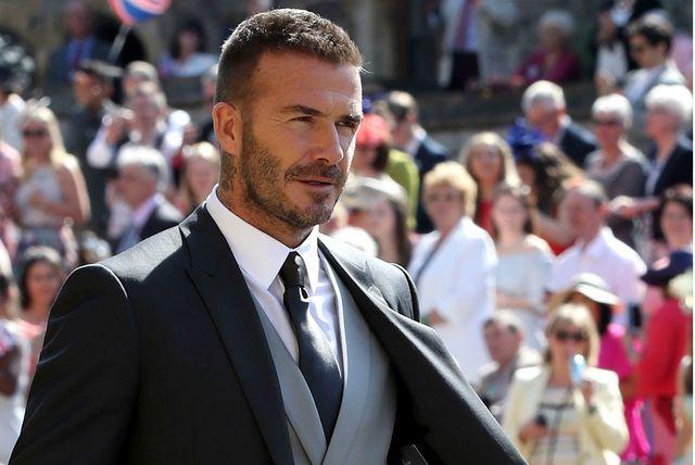 David Beckham na vjenčanju Meghan Markle i princa Harryja - 10