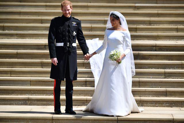 Princ Harry i Meghan Markel nakon izlaska iz dvorca Windsor