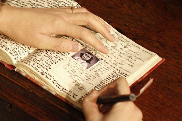 Dnevnik Anne Frank u muzeju Madame Tussauds u Berlinu