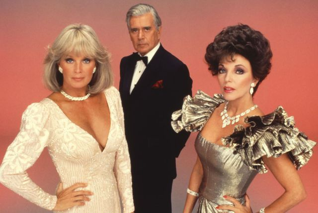 Krystle Carrington, Blake Carrington i Alexis Carrington Colby