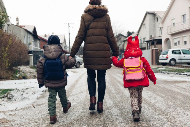 Majka s djecom (Foto: Guliver/Thinkstock)