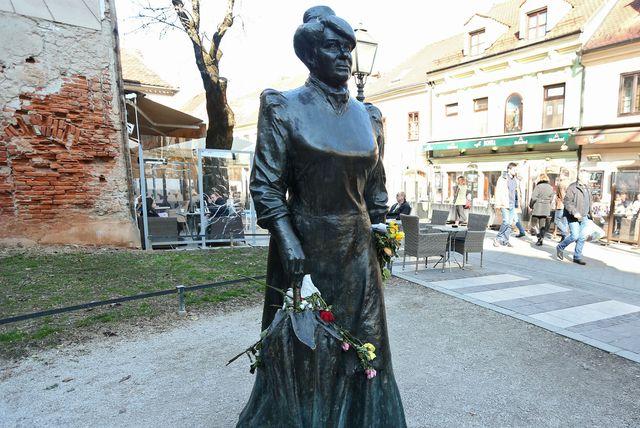Marija Jurić Zagorka (Foto: Sanjin Strukic/PIXSELL)