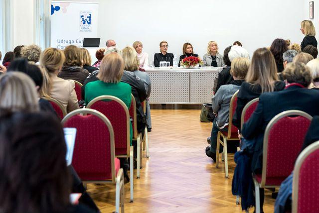 Okrugli stol u organizaciji udruge Europa Donna Hrvatska (Foto: Zadovoljna.hr)