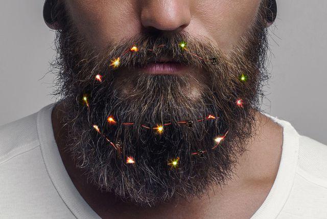 Ovu blagdansku sezonu bradu možete ukrasiti lampicama