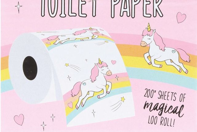 Toaletni papir na jednoroge sastavljen je od 200 čarobnih listića
