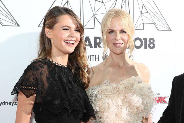Nicole Kidman i nećakinja Lucia Hawley