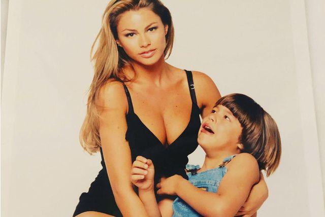 Sofia Vergara sa sinom Manolom devedesetih godina