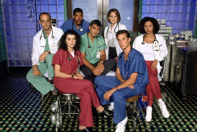 Dio glumačke postave serije Hitna služba