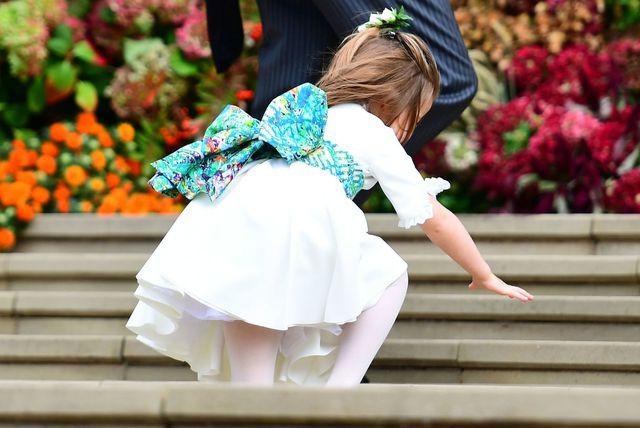 Princeza Charlotte i princ George na vjenčanju princeze Eugenie - 2
